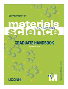 Graduate Handbook 2014