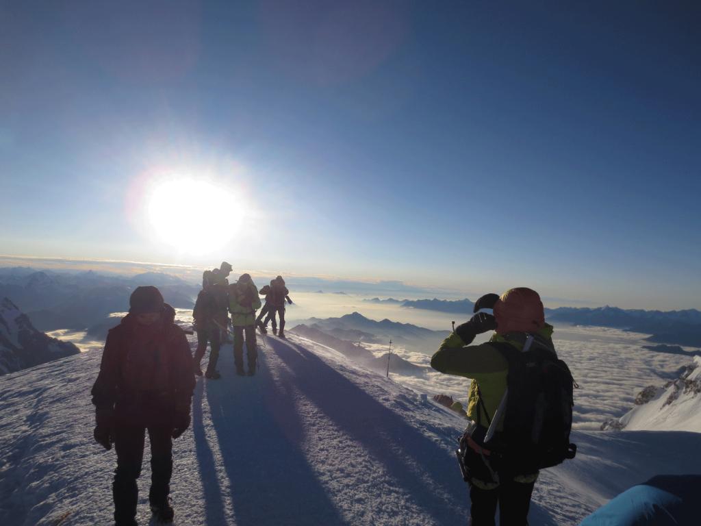 Alpinist Brian Gardener