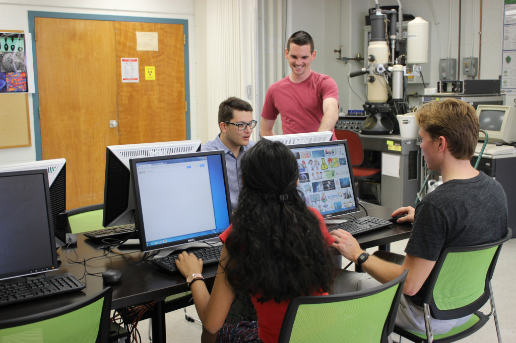 Six new workstations complement the MSE undergraduate teaching lab