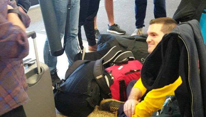 Arriving in Salt Lake City Airport