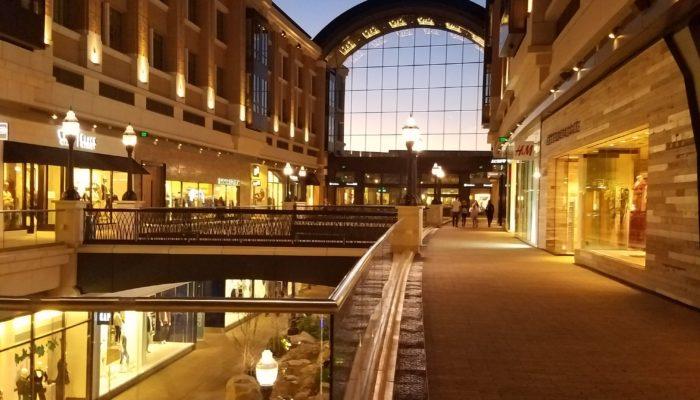 City Creek Center outdoor mall