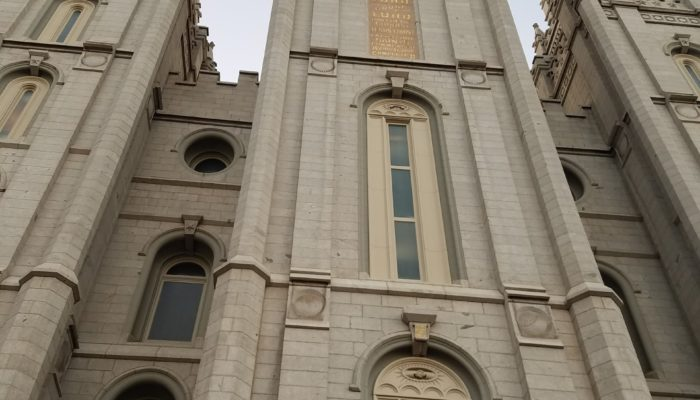 Salt Lake Temple, temple of The Church of Jesus Christ and Latter-day Saints.