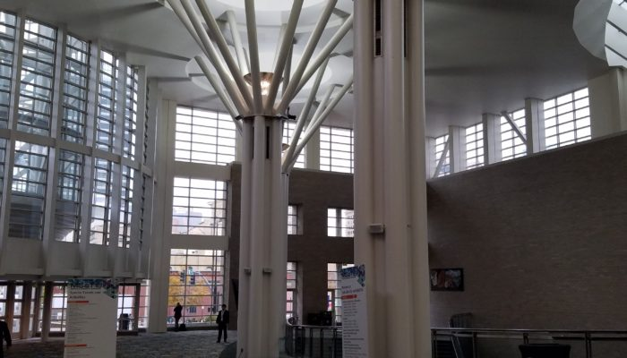 Inside the Salt Palace Convention Center