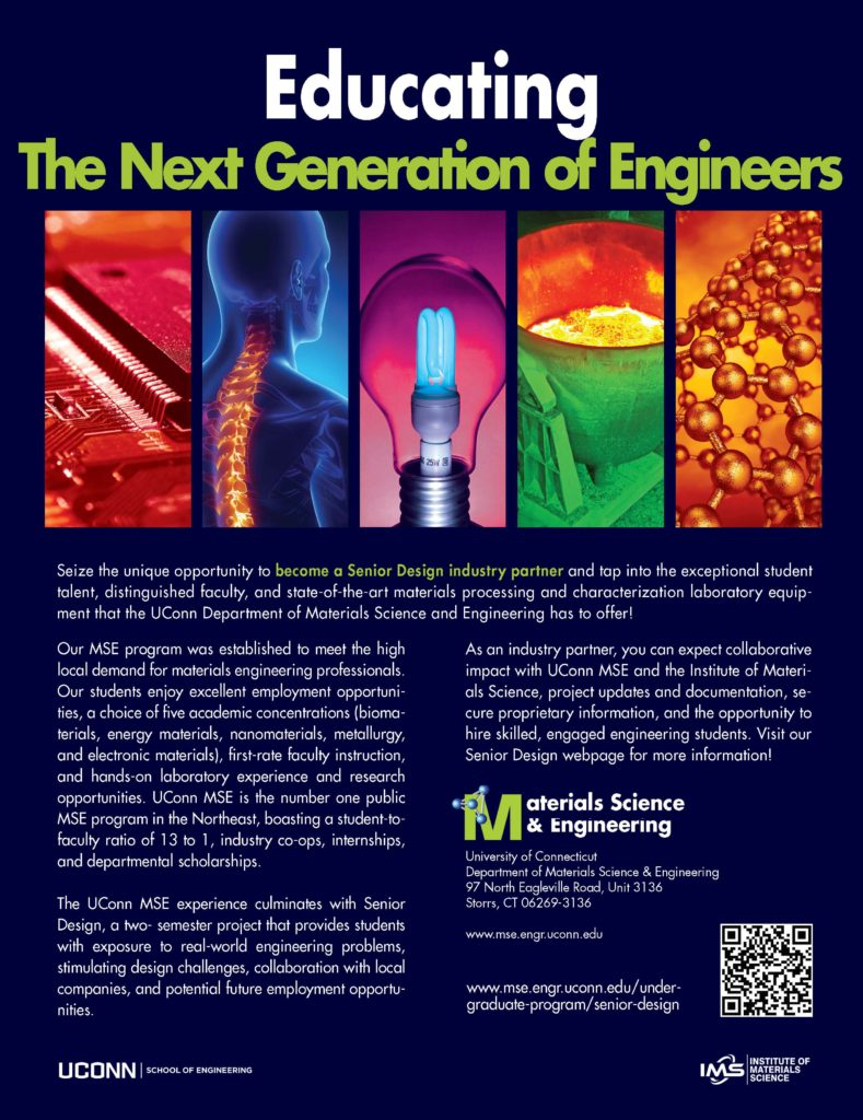 Senior Design flyer image