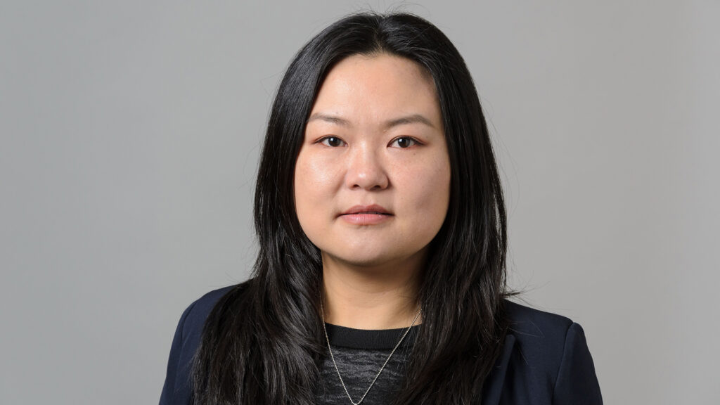photo of MSE Assistant Professor Yuanyuan Zhu