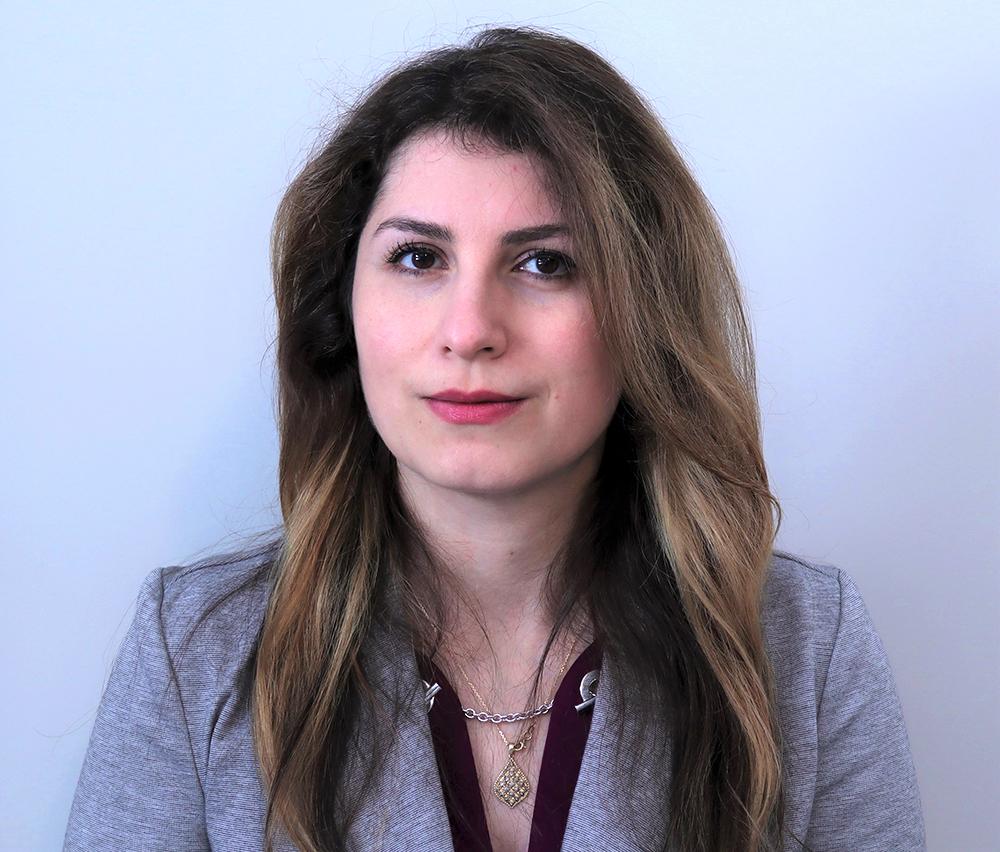 photo of MSE graduate student Sara Pedram